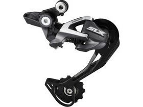 Shimano SLX RD-M670 10-speed Shadow Design Rear Derailleur Top Normal