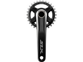 Shimano SLX FC-M7000 SLX crank set, for 53.4mm chain line, without ring, 175mm