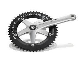 Miche Young 165 Chainset 36/46T Black