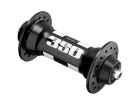 DT Swiss 350 front 24 hole hub 100mm black/white