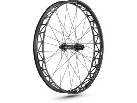 "DT Swiss BR2250, 76mm rim, 25x197mm axle, 26"" rear"