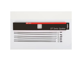 DT Swiss PR 1400 DICUT OXIC black spoke replacement kit