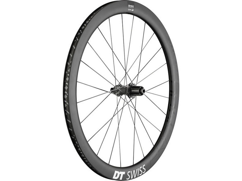 DT Swiss ERC 1400 SPLINE disc, carbon clincher 47 x 19mm, rear click to zoom image