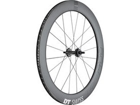 DT Swiss TRC 1400 DICUT track, full carbon tubular 65mm, rear