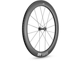 DT Swiss ARC 1400 DICUT wheel, carbon clincher 62 x 17 mm rim, front