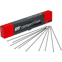 DT Swiss Competition Straight Pull Spokes 14 / 15 g = 2 / 1.8 mm box 100, black 252 mm