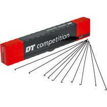 DT Swiss Competition Race 14 / 16 / 14 g = 2 / 1.6 mm box 100, black 282 mm