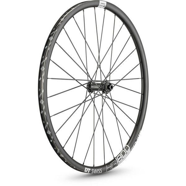 DT Swiss HG 1800 HYBRID disc brake wheel, 25 x 24 mm rim, 110 x 12 mm axle, 700c front click to zoom image