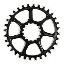 E Thirteen SL Guidering DM Chainring For Boost/non-Boost Black 28T