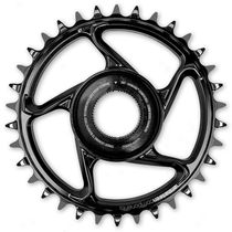 E Thirteen Aluminium DM Chainring Bosch CX Gen4 Black 38T