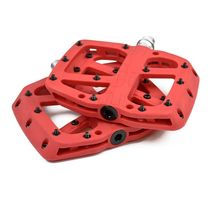 E Thirteen Base Flat Pedal Red 9/16""