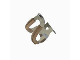 Mks Half Clip Steel Toe Clip Deep With Leather