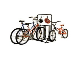 Gear Up Six-On-The-Floor 6-Bike Holder With Accessory Bar