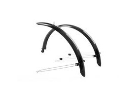 M-Part Commute full length mudguards 20 x 60mm black