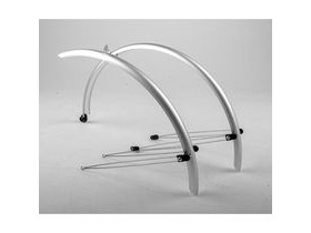 M-Part Commute full length mudguards 20 x 60mm silver