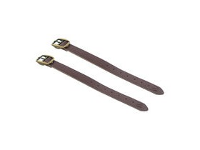 M-Part Leather basket straps, high quality, universal fit Brown