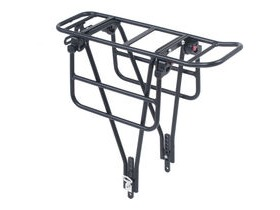 M-Part AX2 Xtra duty rack with tool free folding wings for wide loads
