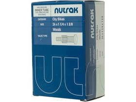Nutrak 26 X 1-1/4 1-3/8 Inch Woods Inner Tube