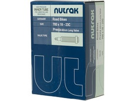 Nutrak 700 X 18 23C Presta 60 Mm Long Valve Inner Tube