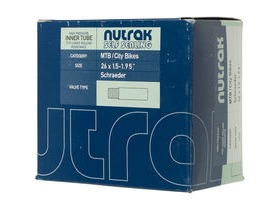 Nutrak 26 X 2.1 2.4 Inch Presta Self-Sealing Inner Tube