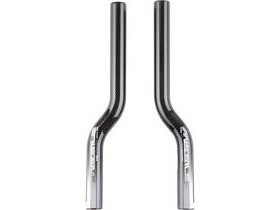 Pro Spare Missile Carbon Time Trial Bar Extensions S-Bend