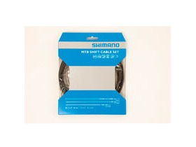 Shimano Spares MTB gear cable set with stainless steel inner wire black