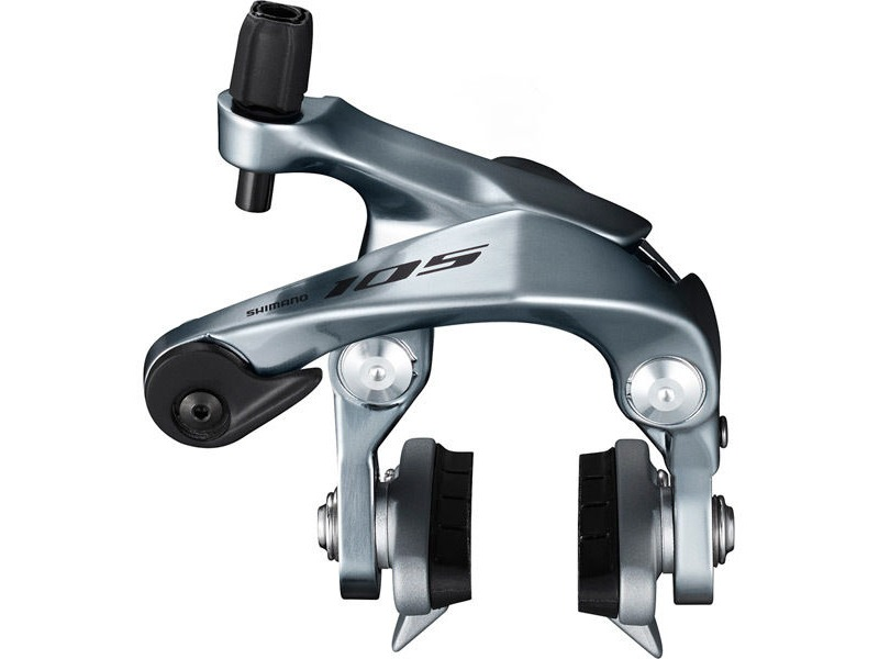 Shimano 105 BR-R7000 105 brake callipers, 49 mm drop, silver, front click to zoom image