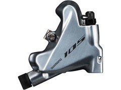 Shimano 105 BR-R7070 105 flat mount calliper, without rotor or adapters, rear, silver