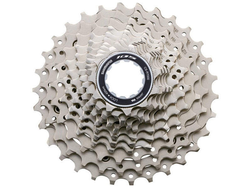 Shimano 105 CS-R7000 105 11-speed cassette, 11 - 32T click to zoom image
