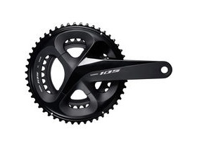 Shimano 105 FC-R7000 105 double chainset, HollowTech II 172.5 mm 53 / 39T, black