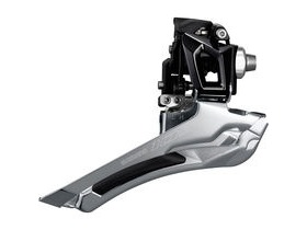 Shimano 105 FD-R7000 105 11-speed toggle front derailleur, double braze-on, black
