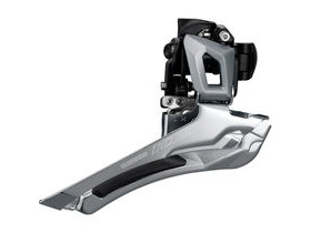 Shimano 105 FD-R7000 105 11-speed toggle front derailleur, double braze-on, silver