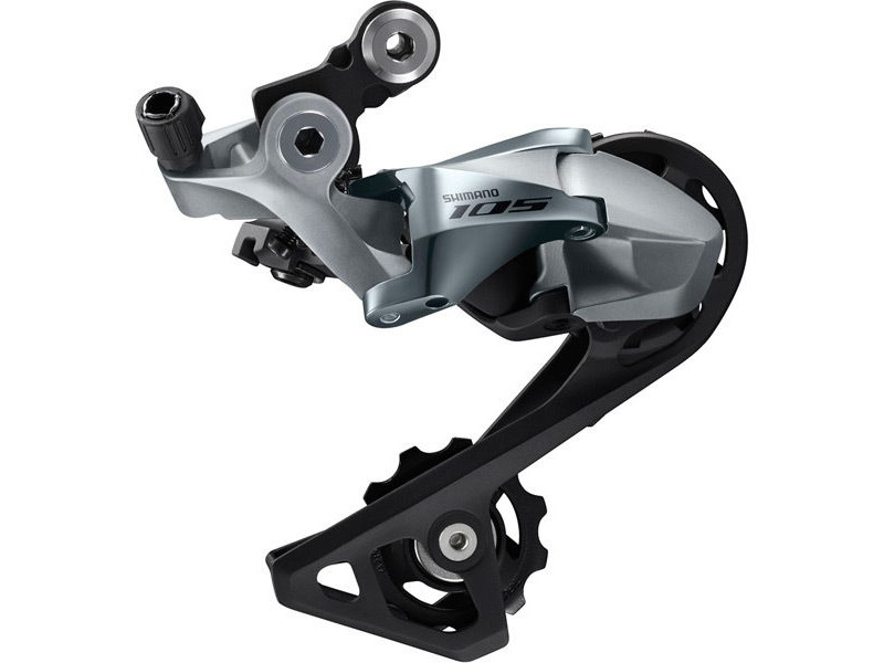 Shimano 105 RD-R7000 105 11-speed rear derailleur, GS, for low gear 28-34T, silver click to zoom image