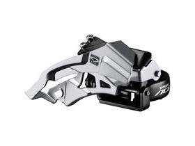 Shimano Acera Acera M3000 triple front derailleur top swing, dual-pull, 9speed 63-66