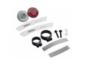 Cateye Reflector Kit - Front, Rear + Wheel