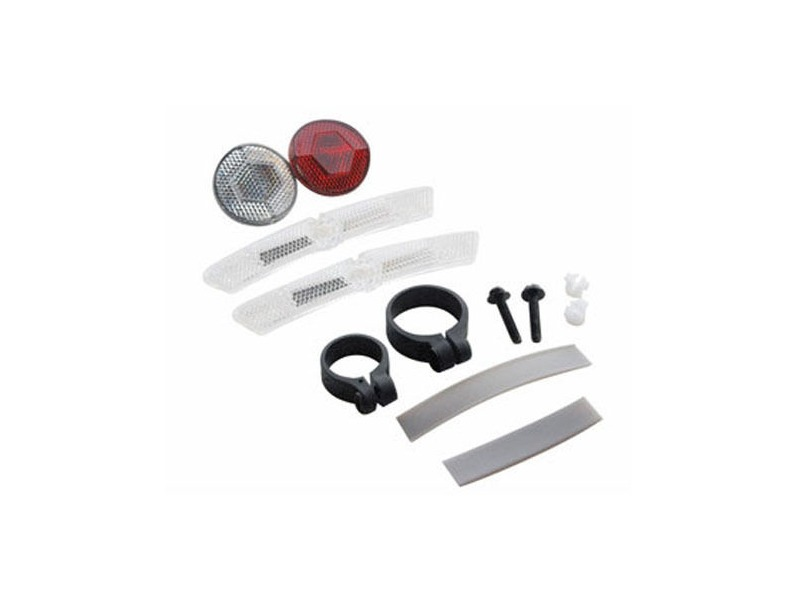 Cateye Reflector Kit - Front, Rear + Wheel click to zoom image
