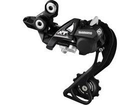 Shimano Deore XT Rd-M786 XT 10-Speed Shadow Design Rear Derailleur Gs Top Normal