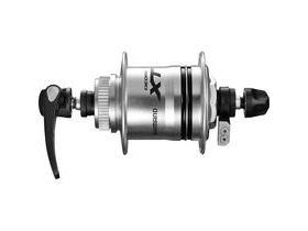 Shimano Deore XT DH-T785-1D Deore XT, 6v 1.5w, for Centre-Lock disc, silver, 32h, Q/R