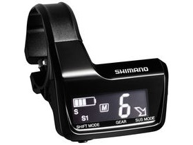 Shimano Deore XT SC-MT800 Di2 system information and display junction A, 3x E-tube ports