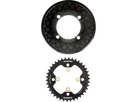 Shimano Saint SM-CR81 chainring and bash guard