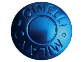 Cinelli Milano Bar End Plugs Blue Pair