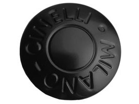 Cinelli Milano Bar End Plugs Black Pair