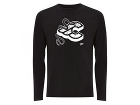 Cinelli Mike Giant L/S T-Shirt Black
