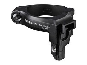 Shimano XTR XTR Di2 front mech mount adapter, for high clamp band, multi fit