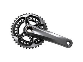 Shimano XTR FC-M9100 XTR chainset, 48.8mm chain line, 12-speed, 165mm, 38/28T