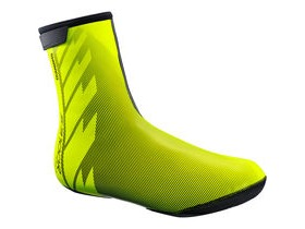 Shimano Clothing Unisex - S3100R NPU+ Shoe Cover - Neon Yellow