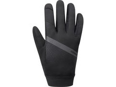 Shimano Clothing Men's Wind Control Glove, Black
