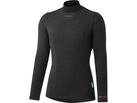 Shimano Clothing Women's Breath Hyper Baselayer, Black