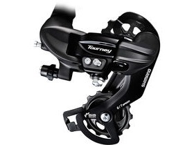 Shimano Tourney / TY RD-TY300 6/7-speed rear derailleur with mounting bracket