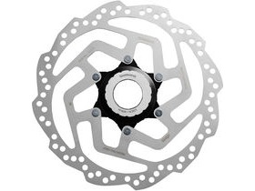 Shimano Tourney / TY SM-RT10 Tourney TX Centre-Lock disc rotor, for resin pad only, 160mm